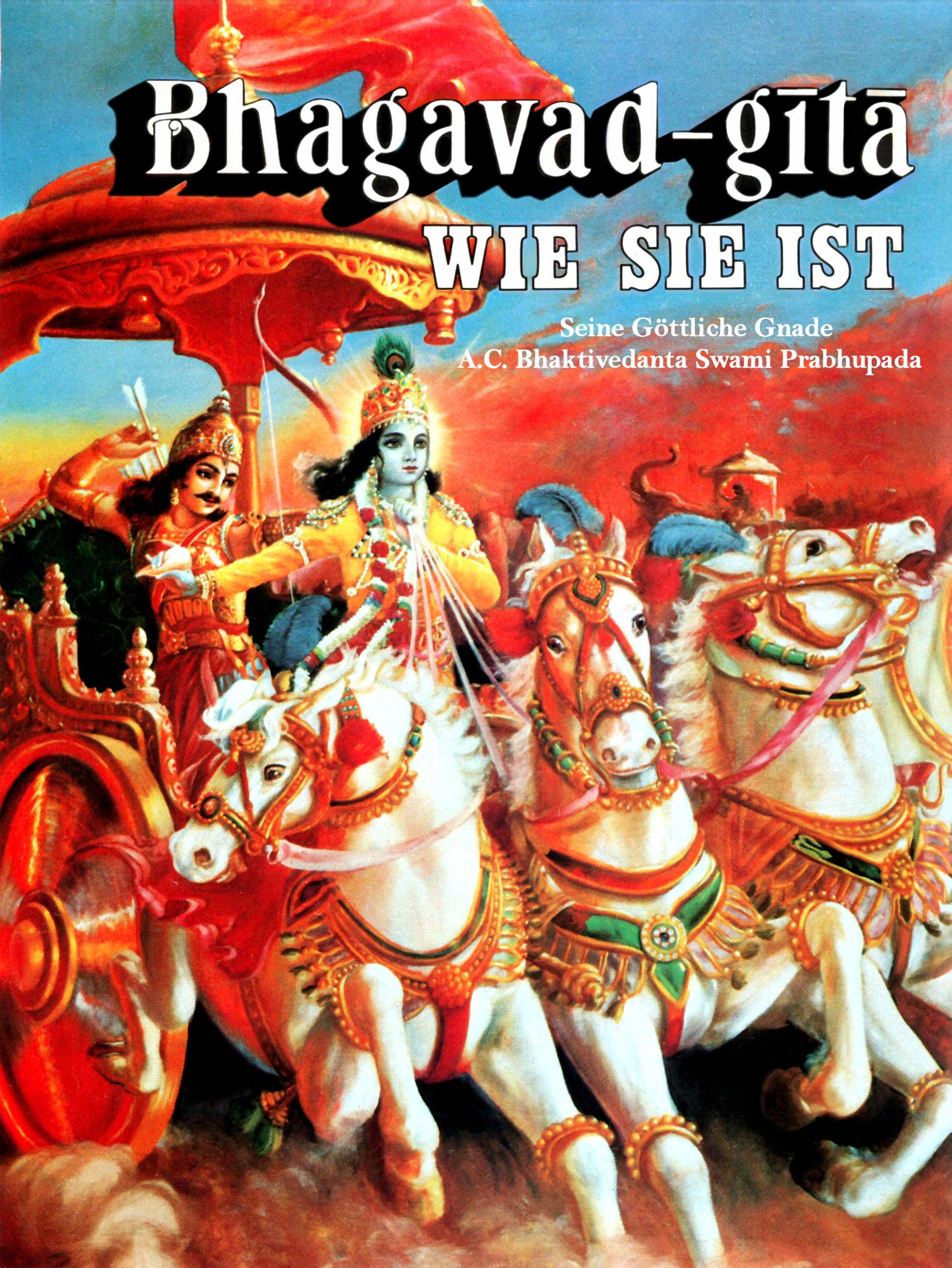 Bhagavad-gita Wie Sie Ist - Original 1974 Edition Schloß Rettershof